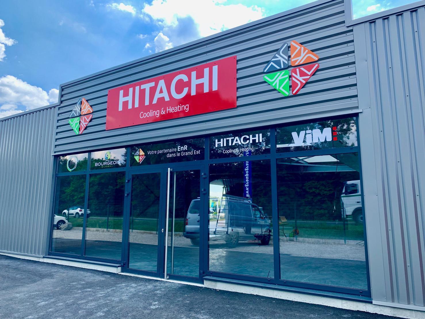 Comptoir haguenau JKL PAC distributeur hitachi